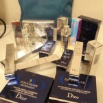 "Dior Fall ""Blue Tied"" Collection, lipsticks and other great items. Courtesy of Mr Rick Wilson and his Twitter ""Fall into the Blue Contest"""