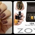 Zoya vs. O.P.I The Battle of the 18K Gold Top Coat Nail Polish
