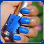 Loreal Nail Colour in Notting Hill Blue x Swatches
