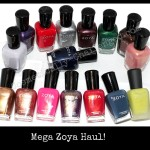 Zoya Nail Polish Mega Haul with Swatches!