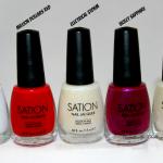 Sation Nail Polish Random Colors Swatches