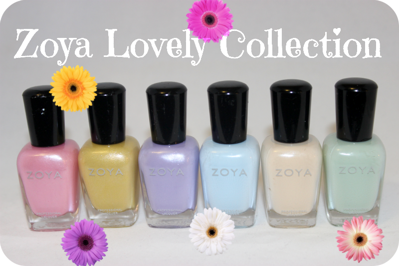 Zoya Lovely Collection Review and Swatches