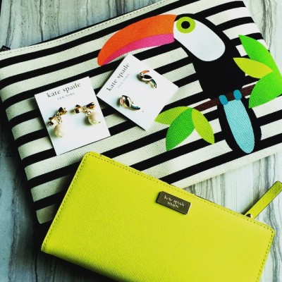Hi Summer, I think I'm ready! #katespade #toucans #summer #style…