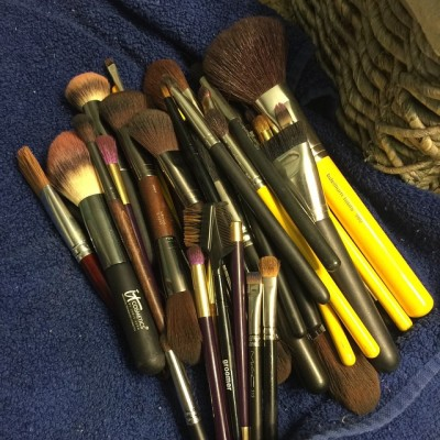 Who wants to come wash my Makeup Brushes? Please people…