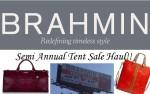 Brahmin Tent Sale Haul