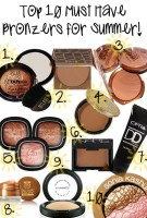 Top 10 Must Have Bronzers for Summer