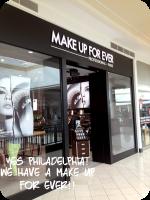 makeup forever Philadelphia