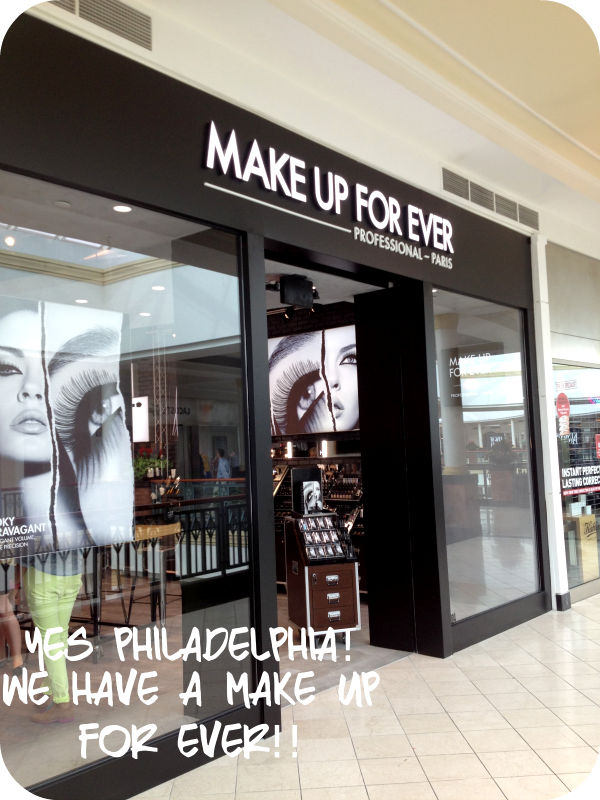 Make Up For Ever Opens New Boutique in Philadelphia Burbs!