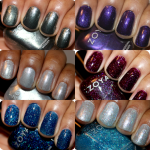 Zoya Holiday 2013 Zenith Collection Swatches