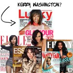 Is This Kerry Washington On Lucky Magazines Cover?