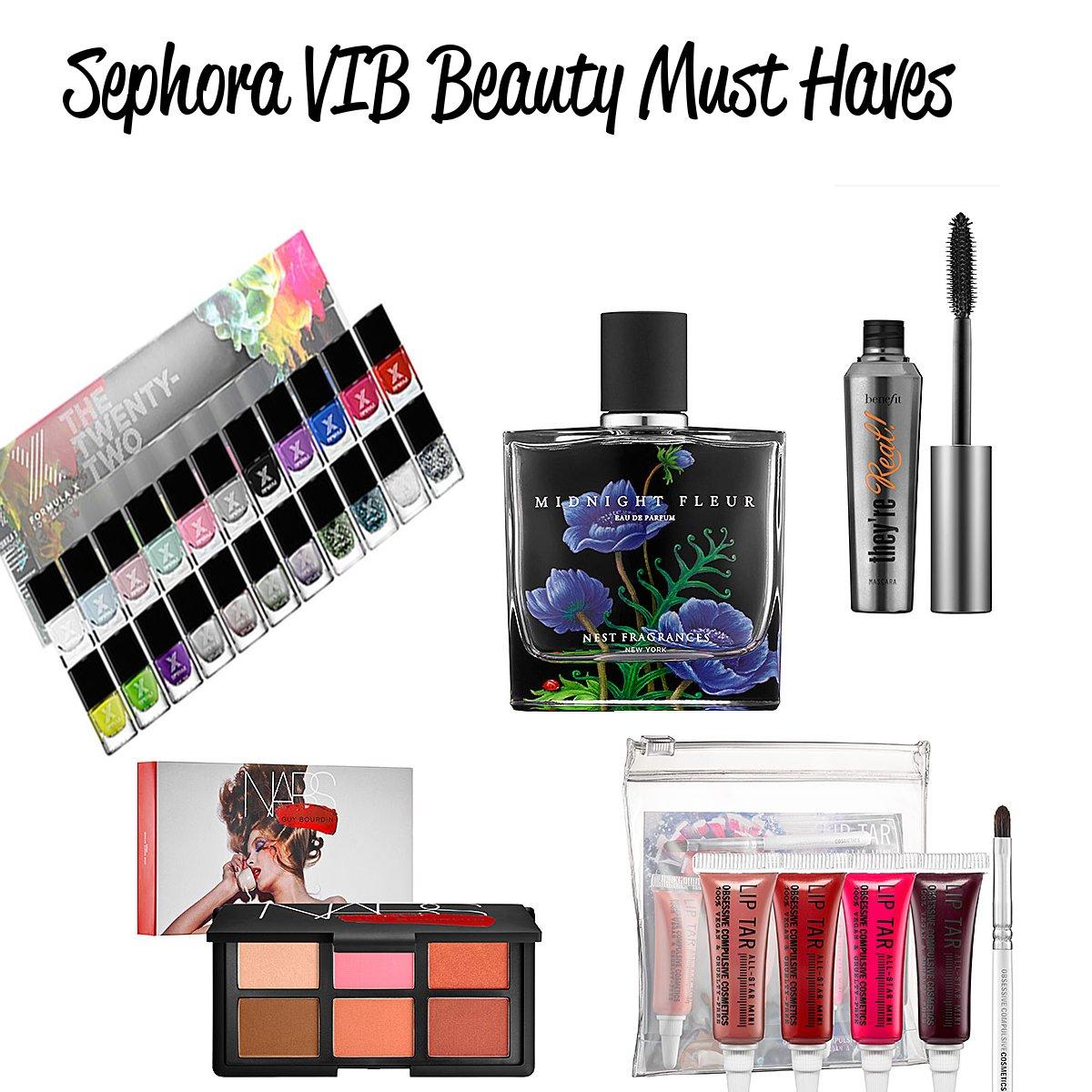 Sephora VIB Must Haves