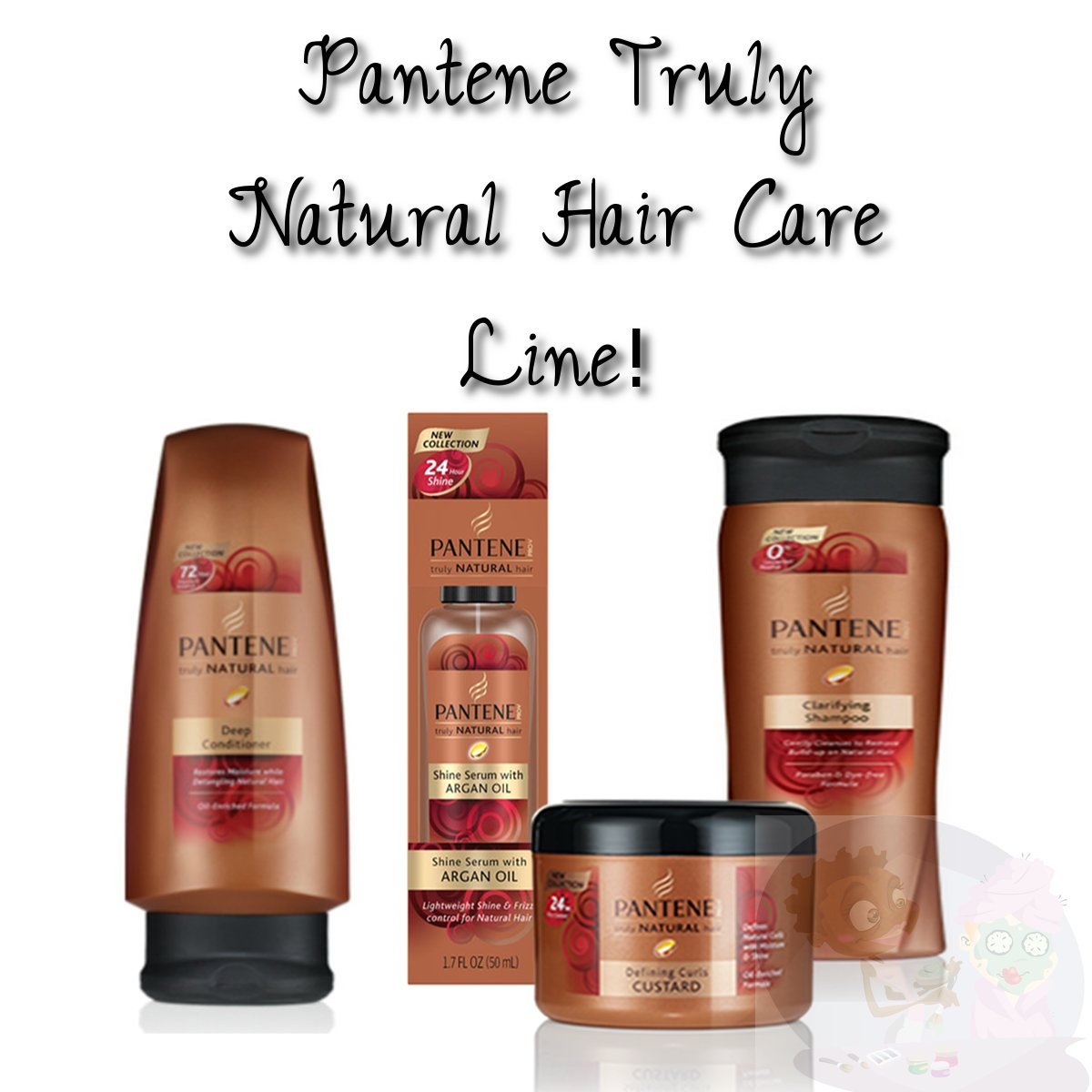 Pantene Natural Hair Care Line