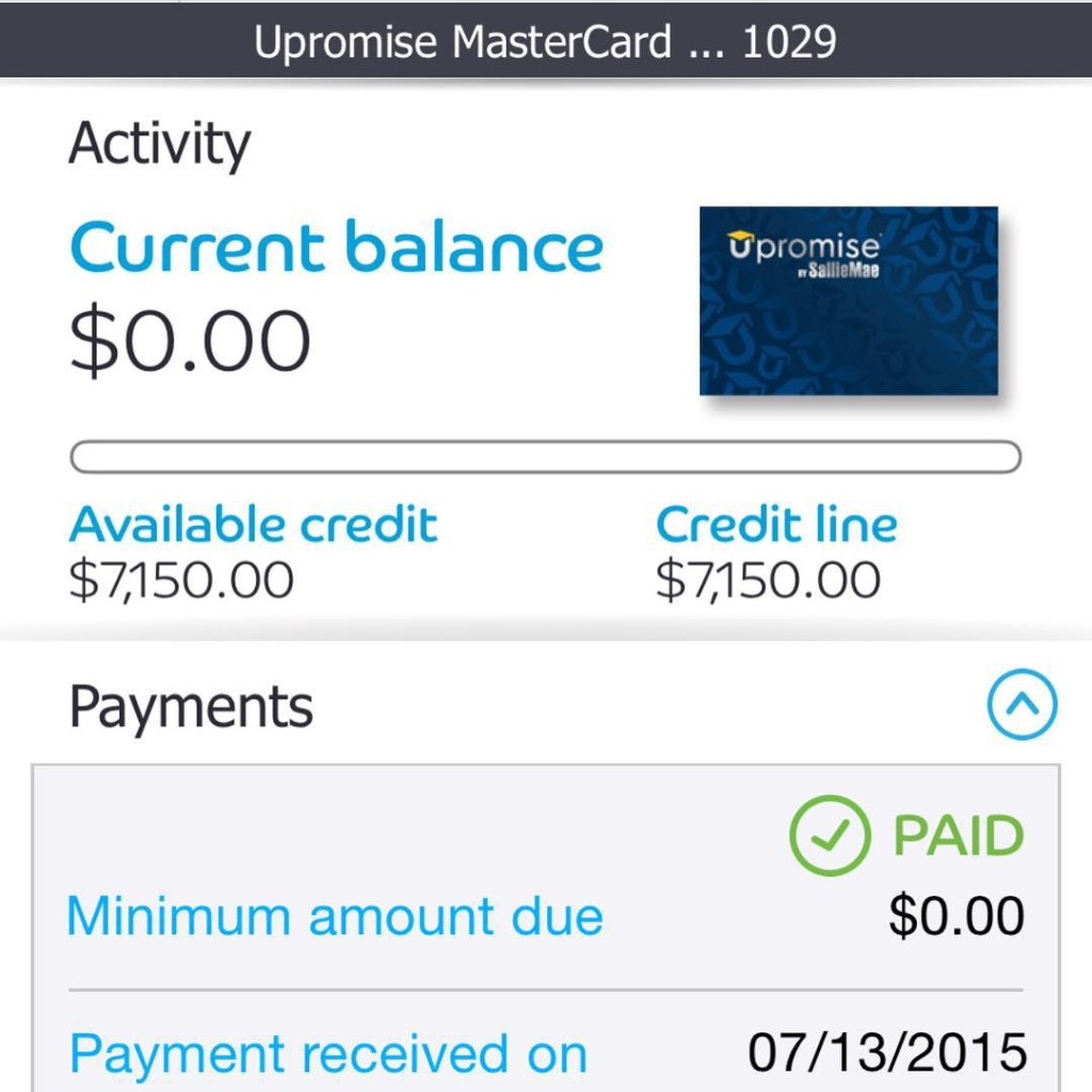 July 2015 Debt Payoff Report