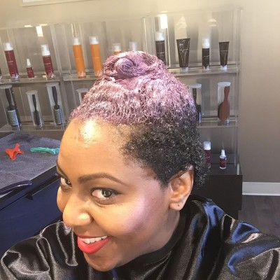 Oh what do we have here? change therittenhouse naturalhair newcolorhellip