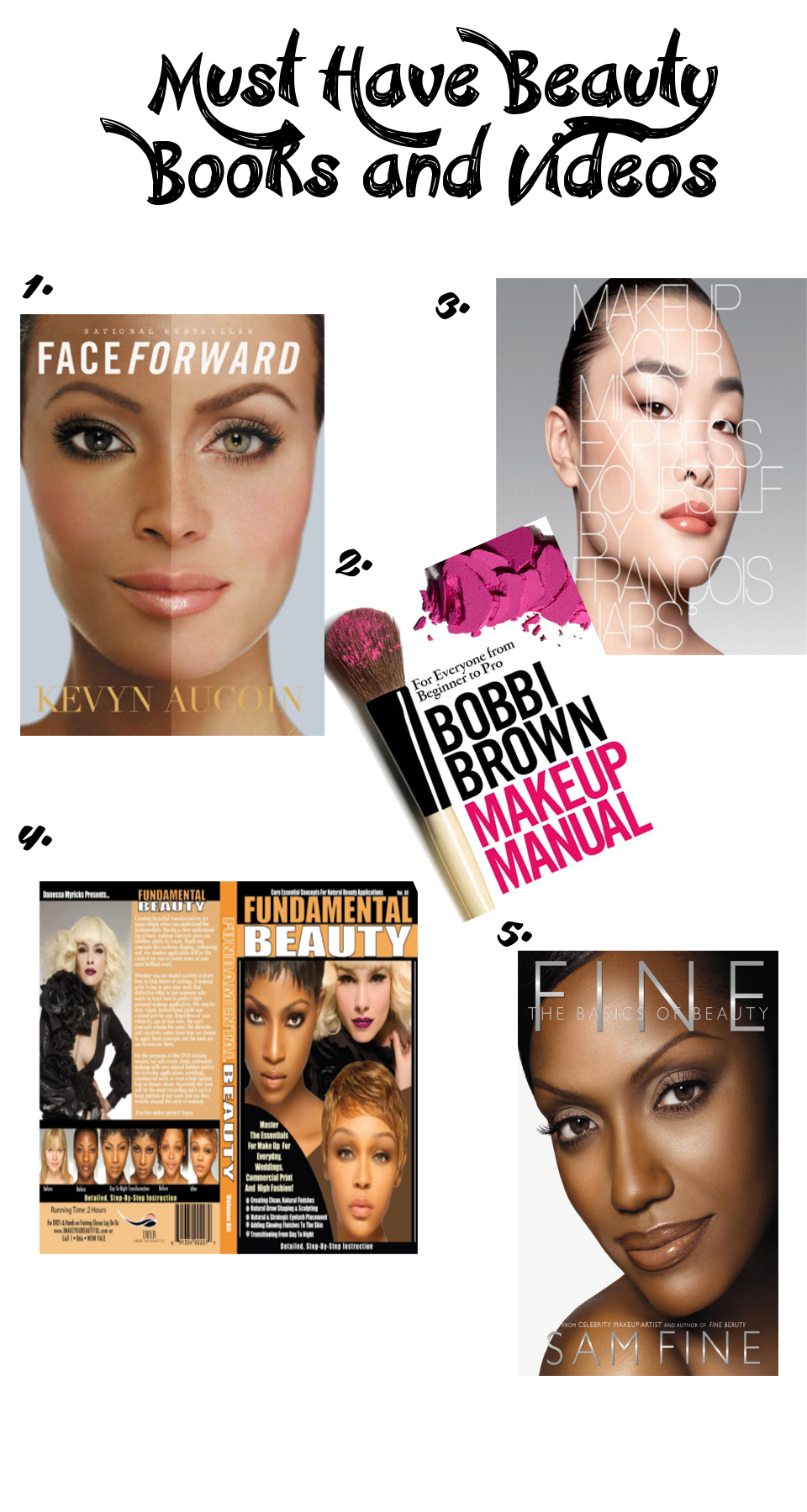 Must Have Beauty Book and Vidoes