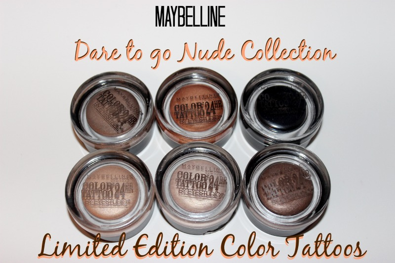 Maybelline Color Tattoos, Dare to Go Nude, Color Tattoos, Maybelline
