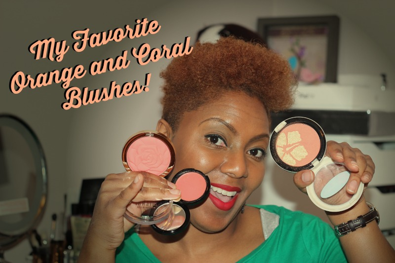 Must Have Orange and Coral Blushes
