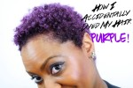Purple Hair, AgeBeautiful 3V Dark Plum Brown