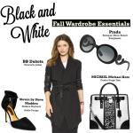 Black and White Fall Wardrobe Essentials