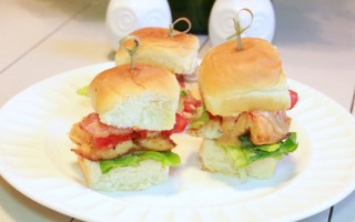 Chipotle Salmon Sliders