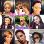 2014 Year End HairStyles Review