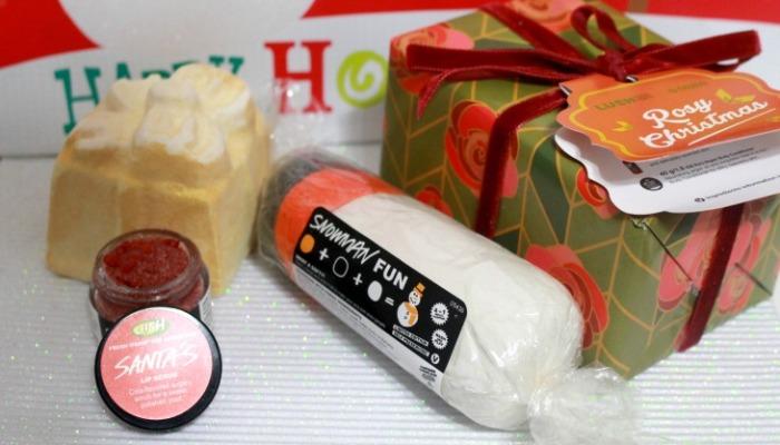 Lush Cosmetics Holiday 2014