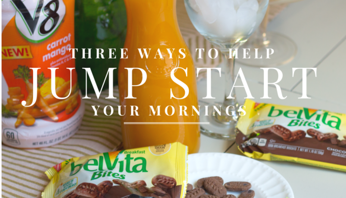 Five Ways to Jump Start your Mornings #belvita #v8 #breakfast #energy (2)