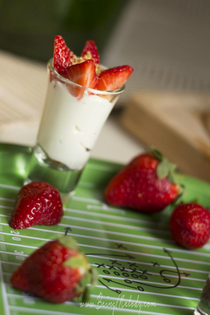 Strawberry Cheese Cake Shots, Strawberry Cheese Cake, dessert, weight watchers