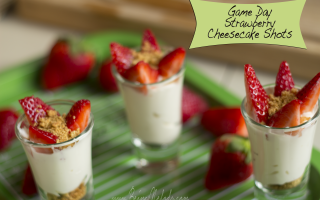 Strawberry Cheese Cake Shots, Strawberry Cheese Cake, dessert, weight watchers