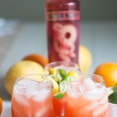 I'm pretty sure it's 5 O'clock somewhere. With @smirnoffus Sours…