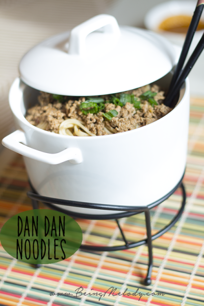 Celebrate Chinese New Year with Dan Dan Noodles!