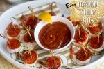 Easy Pepperoni Shrimp Bites