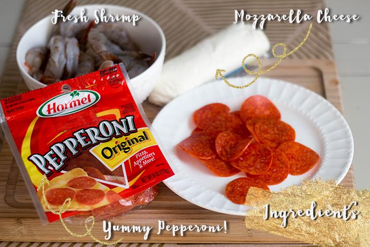 Pepperoni Shrimp Bites Ingredients (1 of 10)