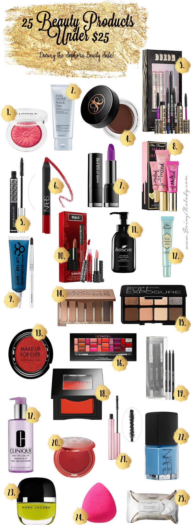 25 Beauty Products Under $25 To Grab during the Sephora Beauty Sale