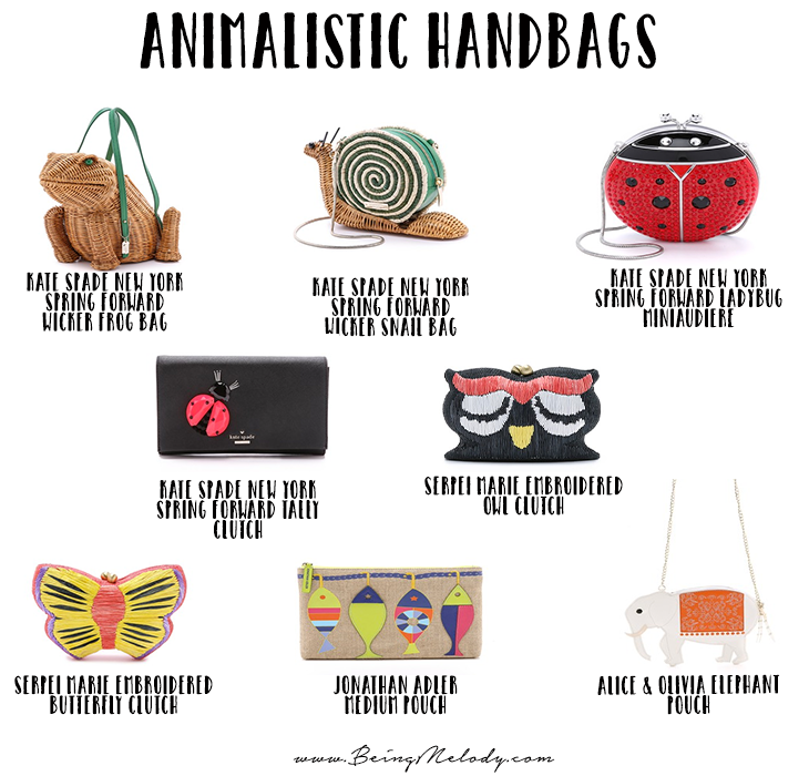 Eight Handbags that Will Help You Tap into your Inner Spirit Animal