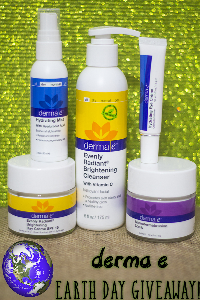 derma e Green Beauty Earth Day Giveaway!