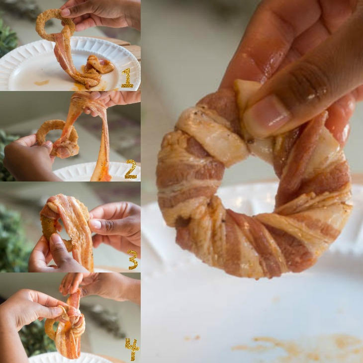 How to Wrap Onion Rings in Bacon