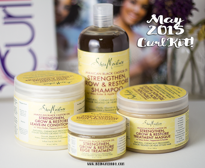 May's CurlKit has been taken over by SheaMoisture!