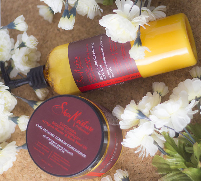 Pro Line: SheaMoisture CocoShea Biolipid Complex Curl Memory Leave in Conditioner and Gentle Curl-Cleansing Co-wash Review