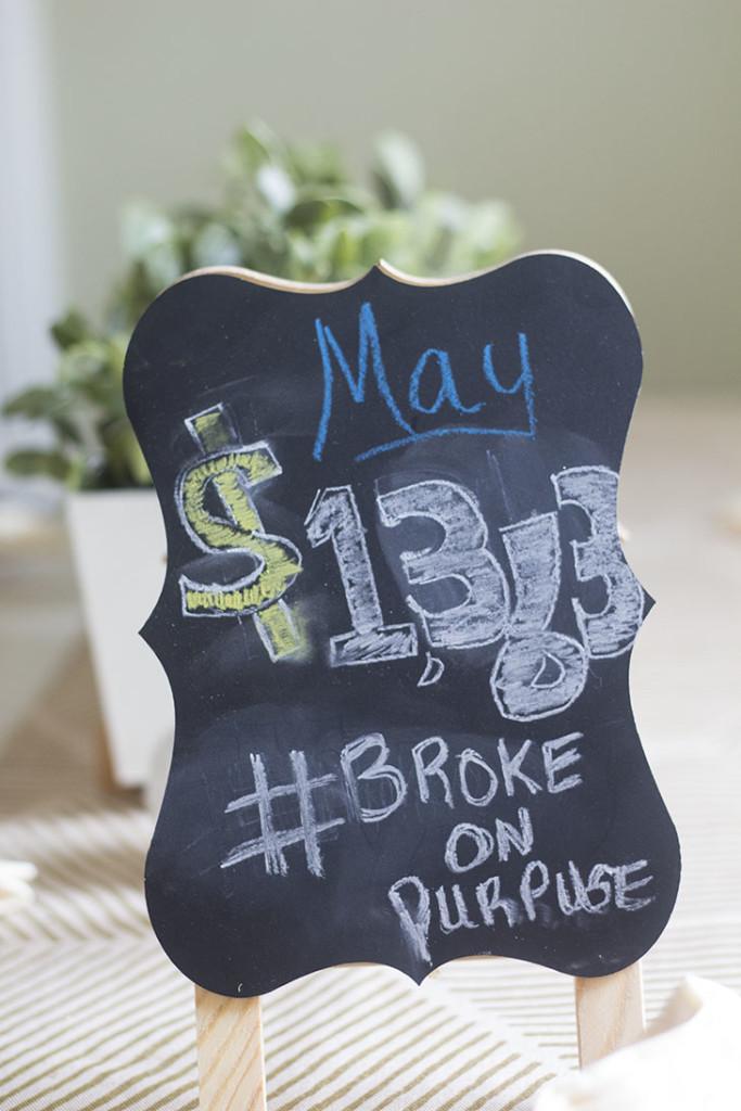 May 2015 Debt Payoff Report |Broke on Purpose| www.livebrokeonpurpose.com
