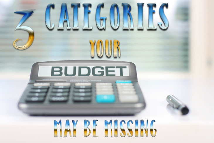 Three Important Budget Categories You May Be Missing.