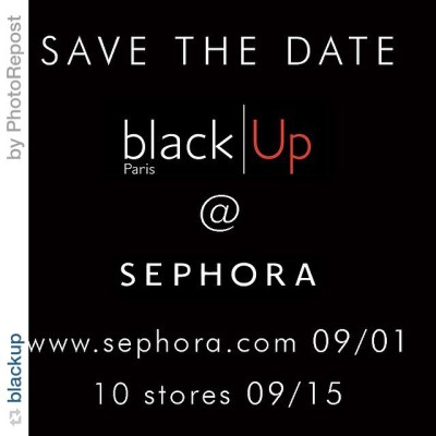 We have a date!!! Black up Cosmetics will be athellip