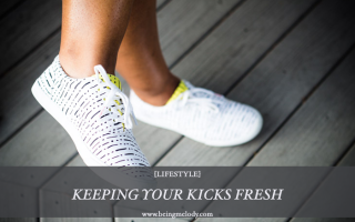 Keeping your kicks fresh with tide
