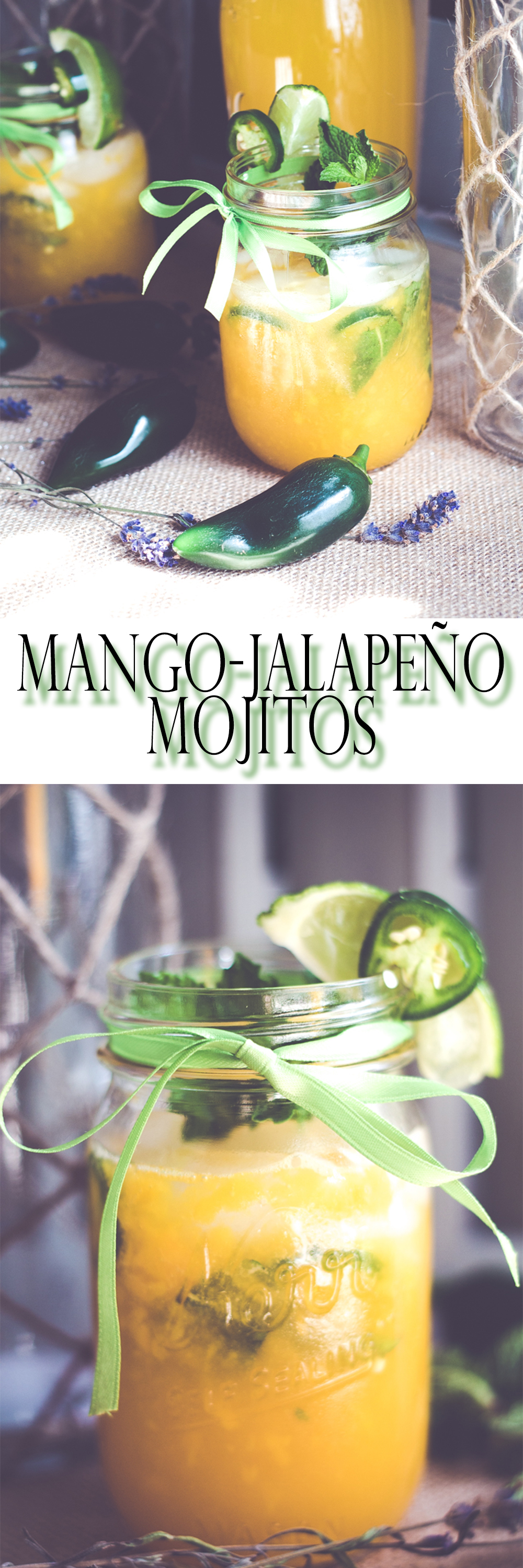 Mango-Jalapeño Mojitos are a great way to start your weekend off right. |BeingMelody.com|@BeingMelody