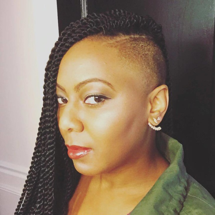 UnderCut Natural HairStyle |BeingMelody.com| @BeingMelody