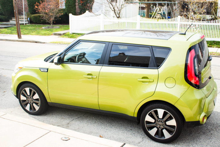 The 2016 Kia Soul in Alien Green is a great ride