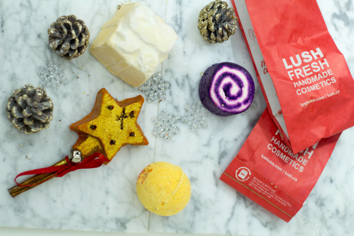 LUSH Holiday Bath and Body Products Are the Perfect Gift!