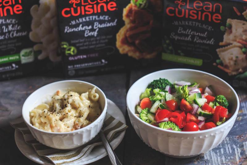 Lean Cuisines are a great option when you're trying to balance a busy life and a healthy lunch. #nourishwhatmatters