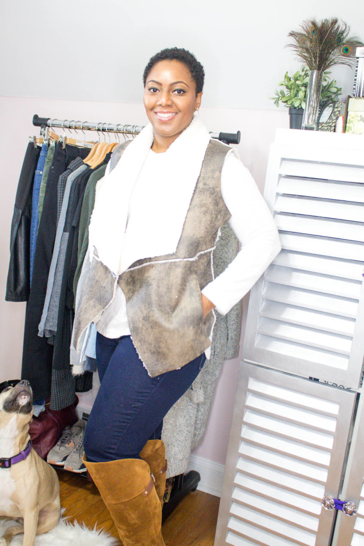 Being Melody Winter Capsule Wardrobe Outfit 1
