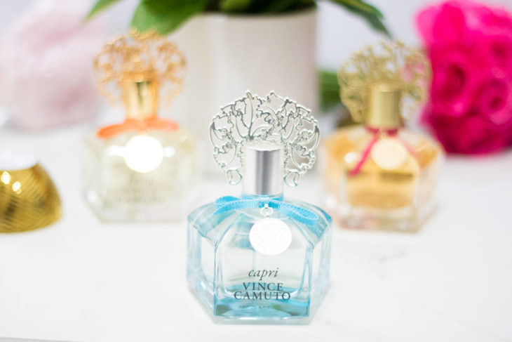 Vince Camuto Capri Fragrance is the perfect scent for spring and summer.